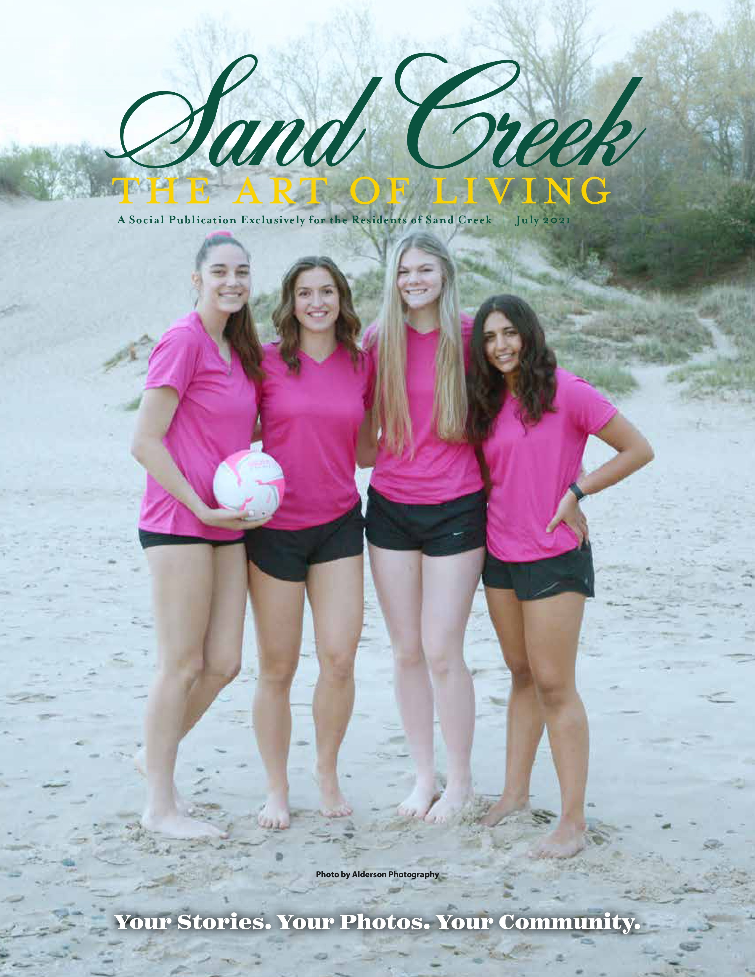 Sand Creek, The Art of Living 2021-07-01