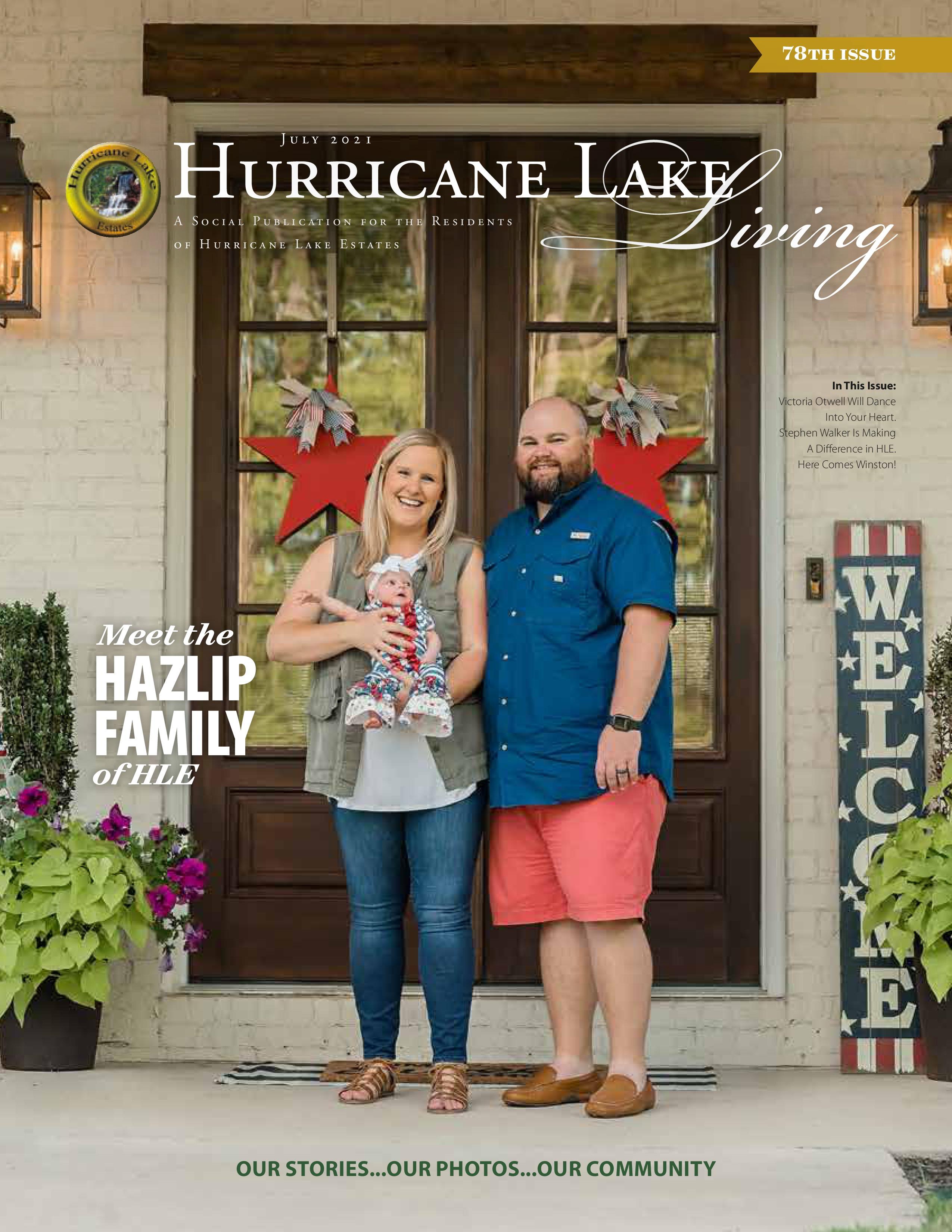 Hurricane Lake Living 2021-07-01