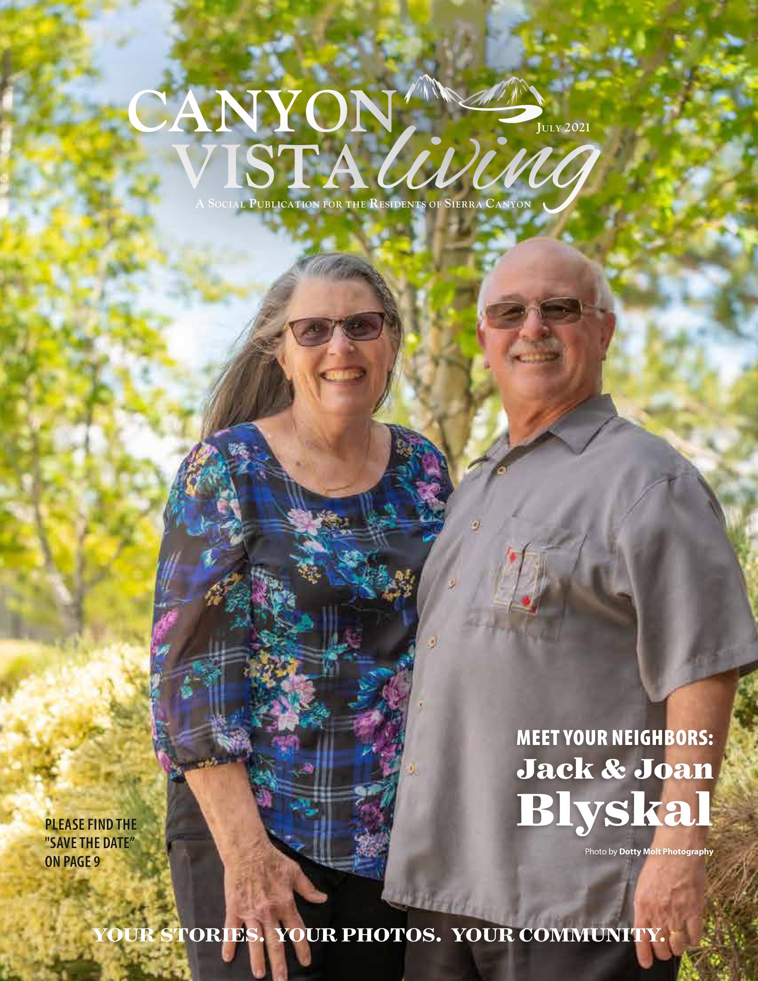 Canyon Vista Living 2021-07-01