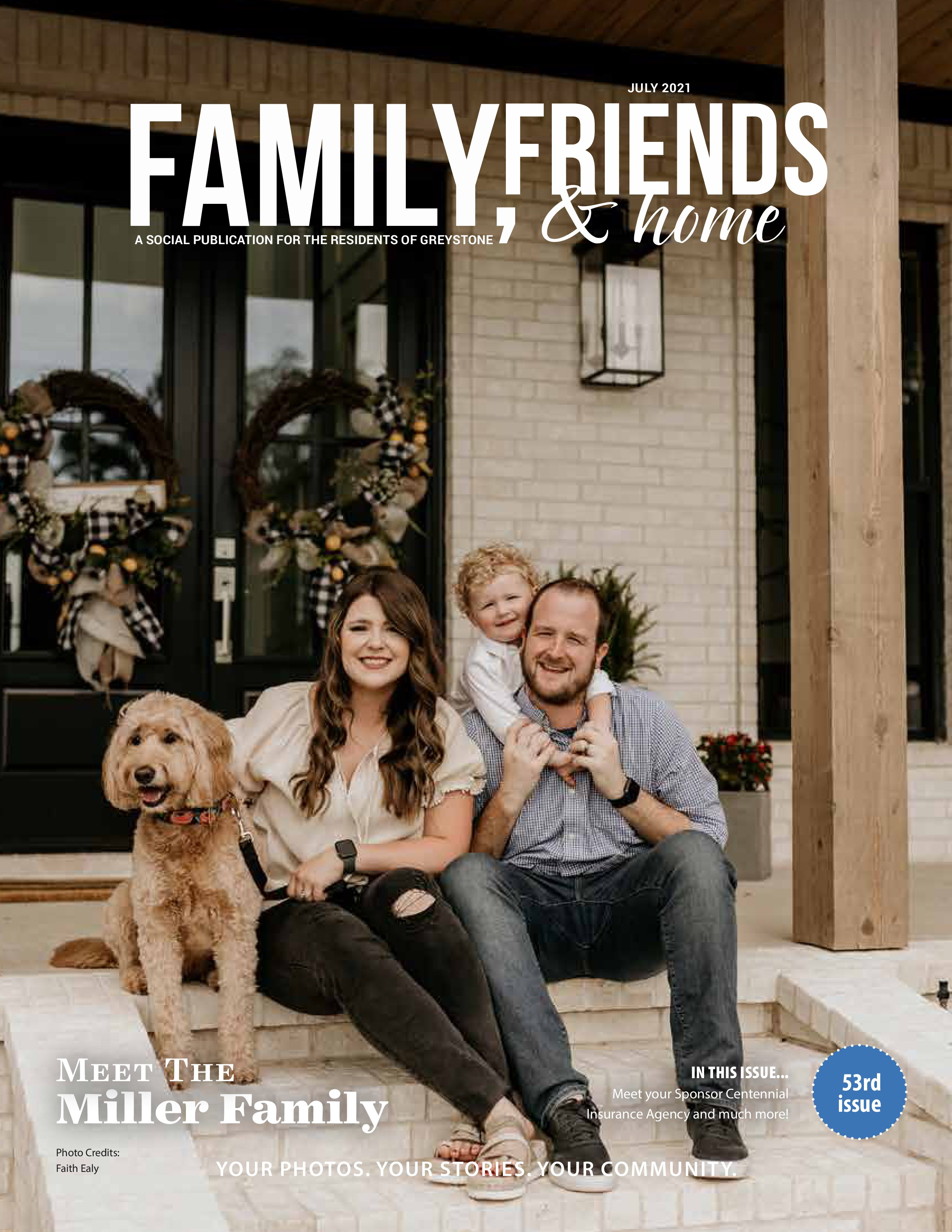 Family, Friends & Home 2021-07-01