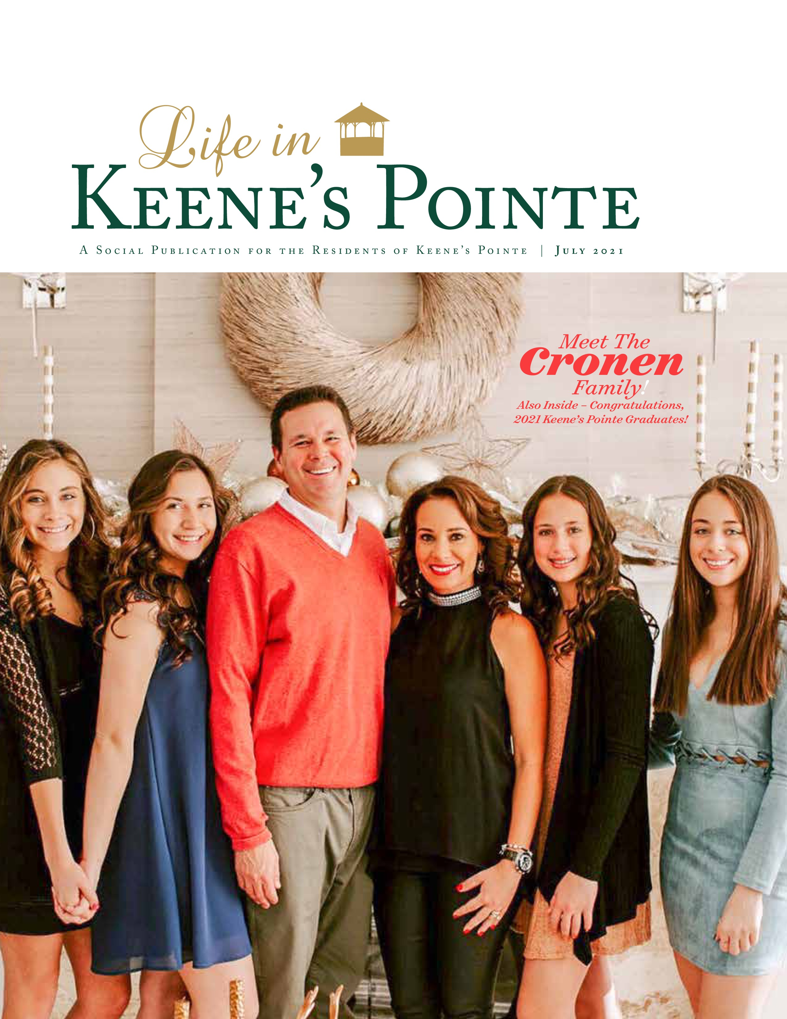 Life in Keene's Pointe 2021-07-01