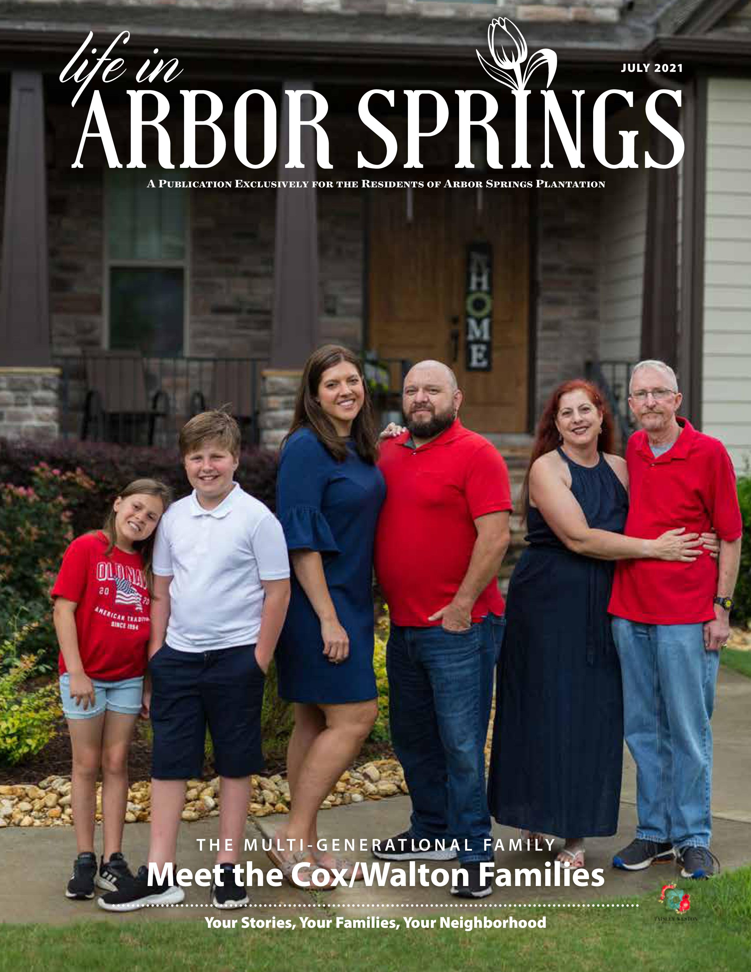 Life in Arbor Springs 2021-07-01
