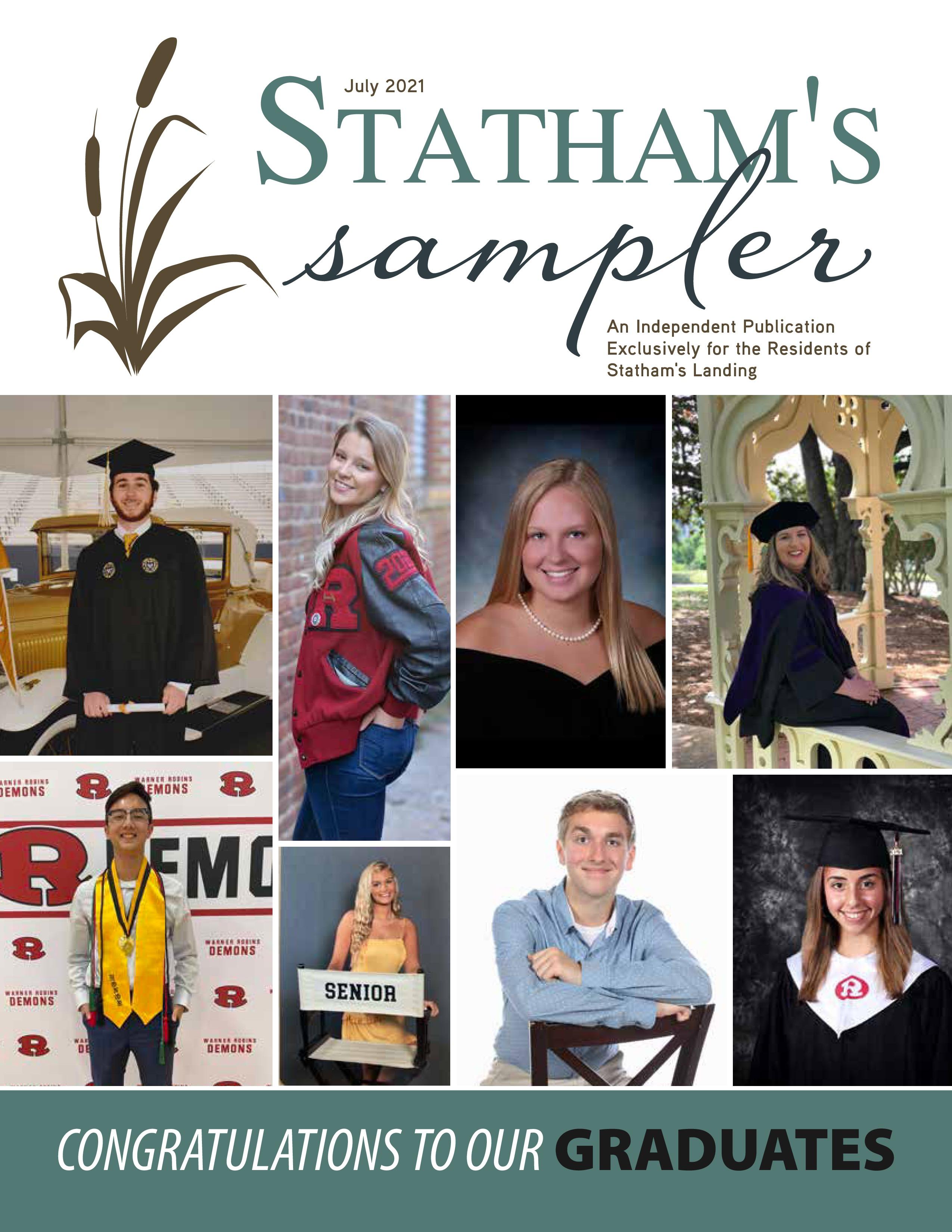 Statham's Sampler 2021-07-01