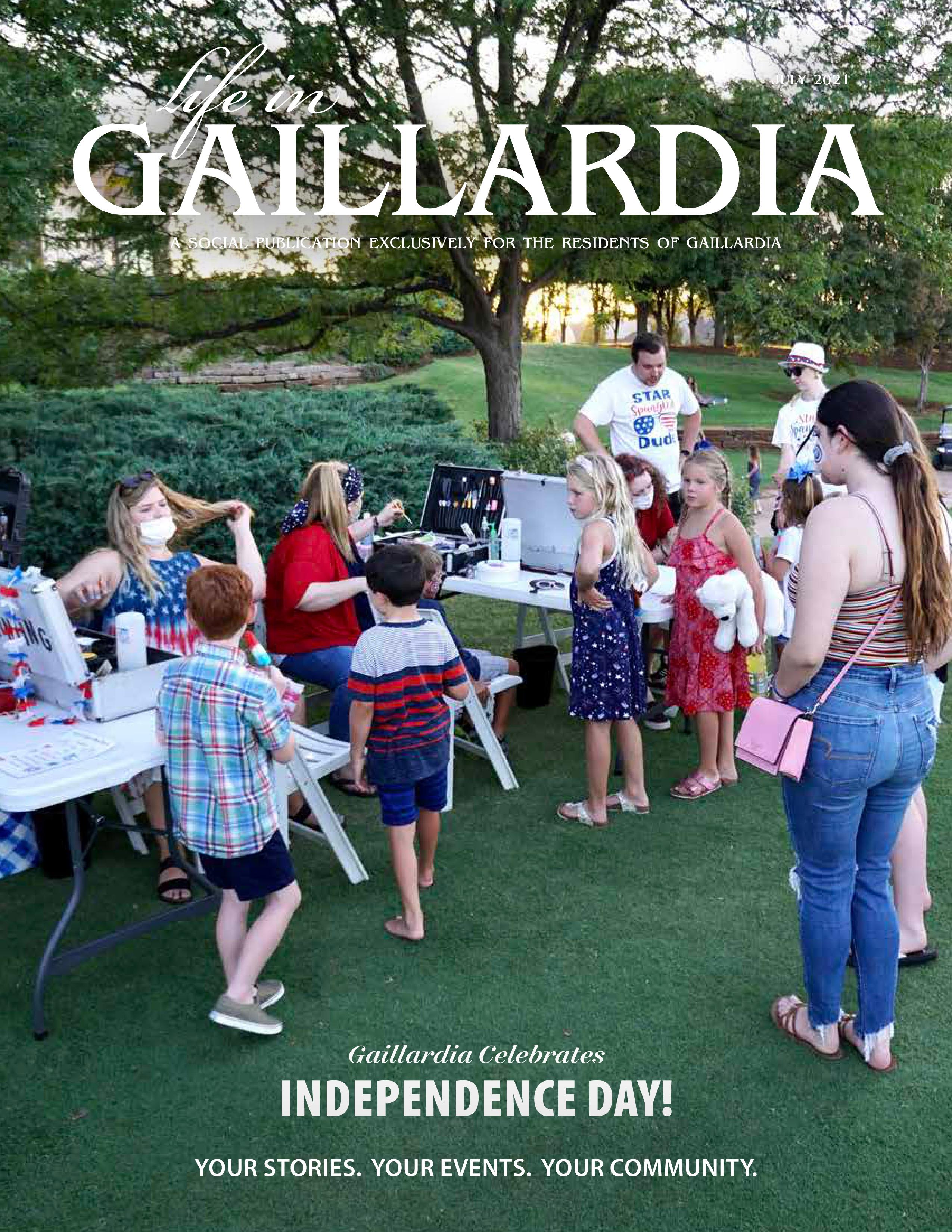 Life in Gaillardia 2021-07-01