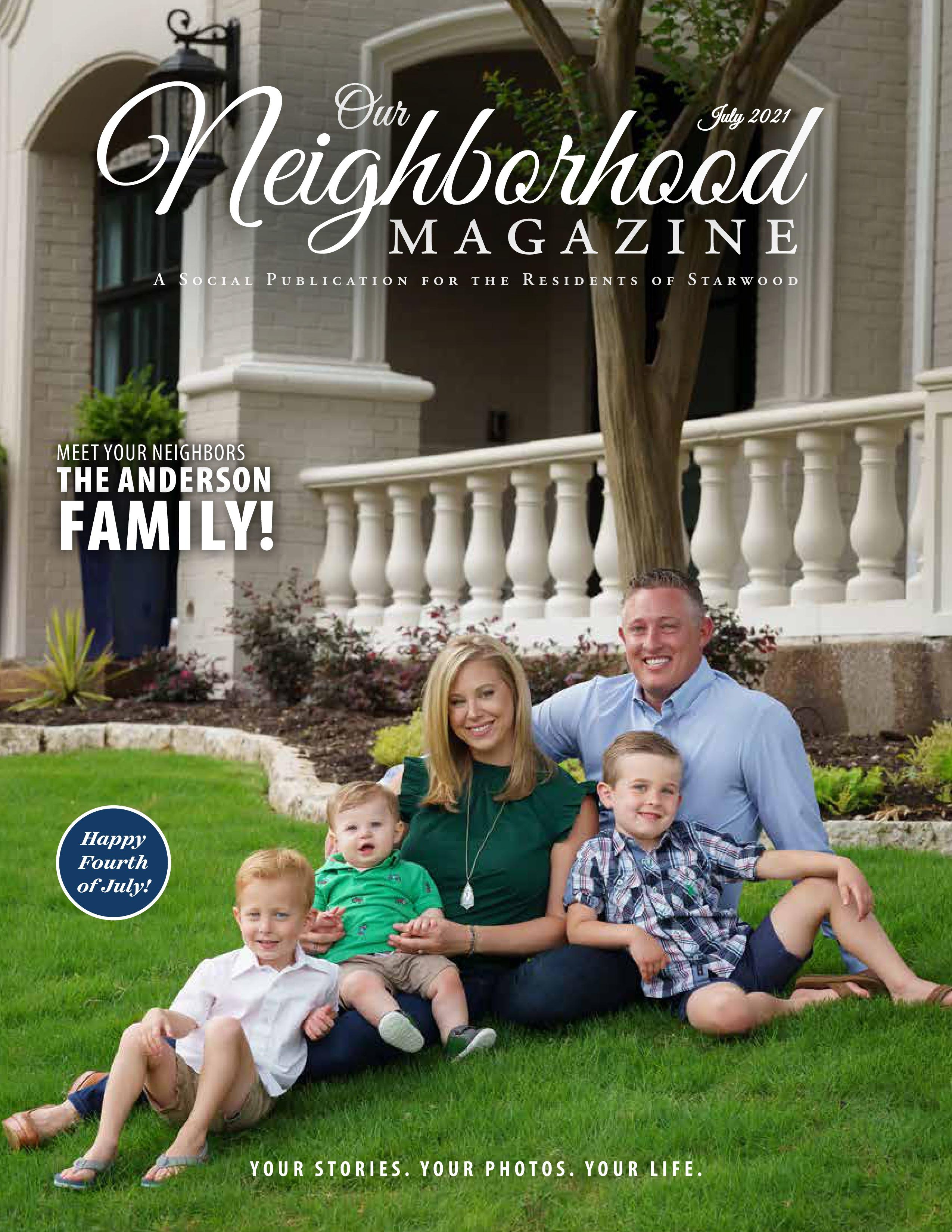 Our Neighborhood Magazine 2021-07-01