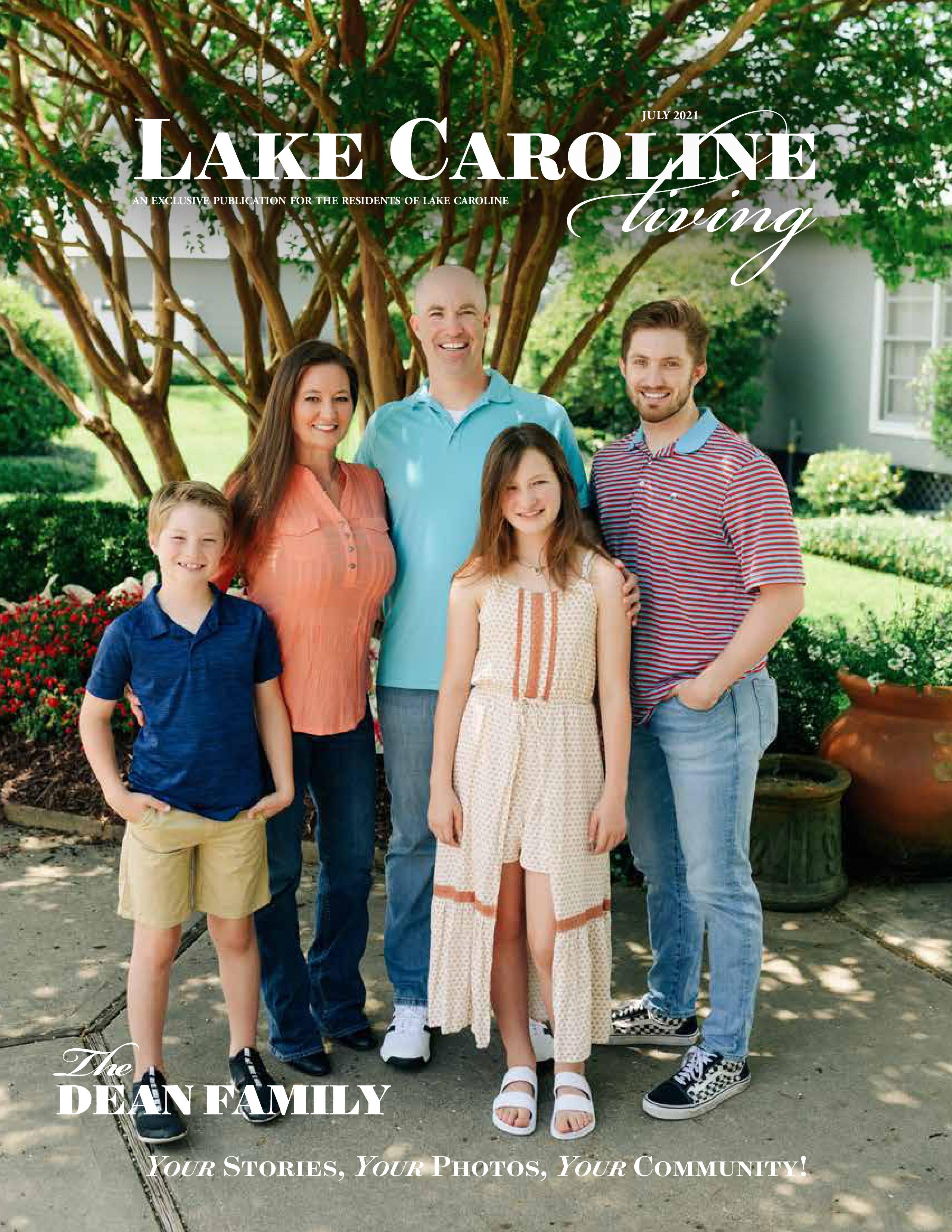 Lake Caroline Living 2021-07-01