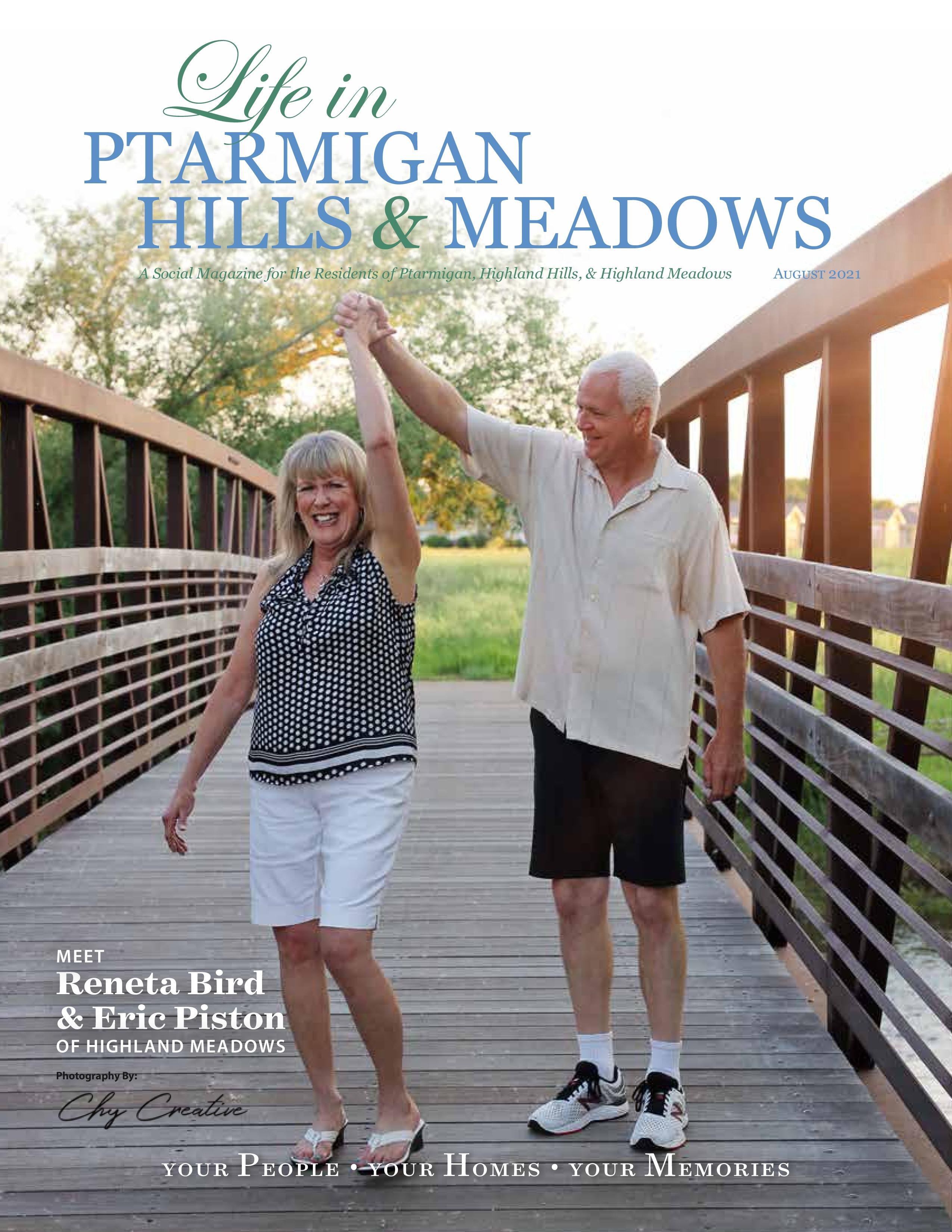 Life in Ptarmigan Hills and Meadows 2021-08-01