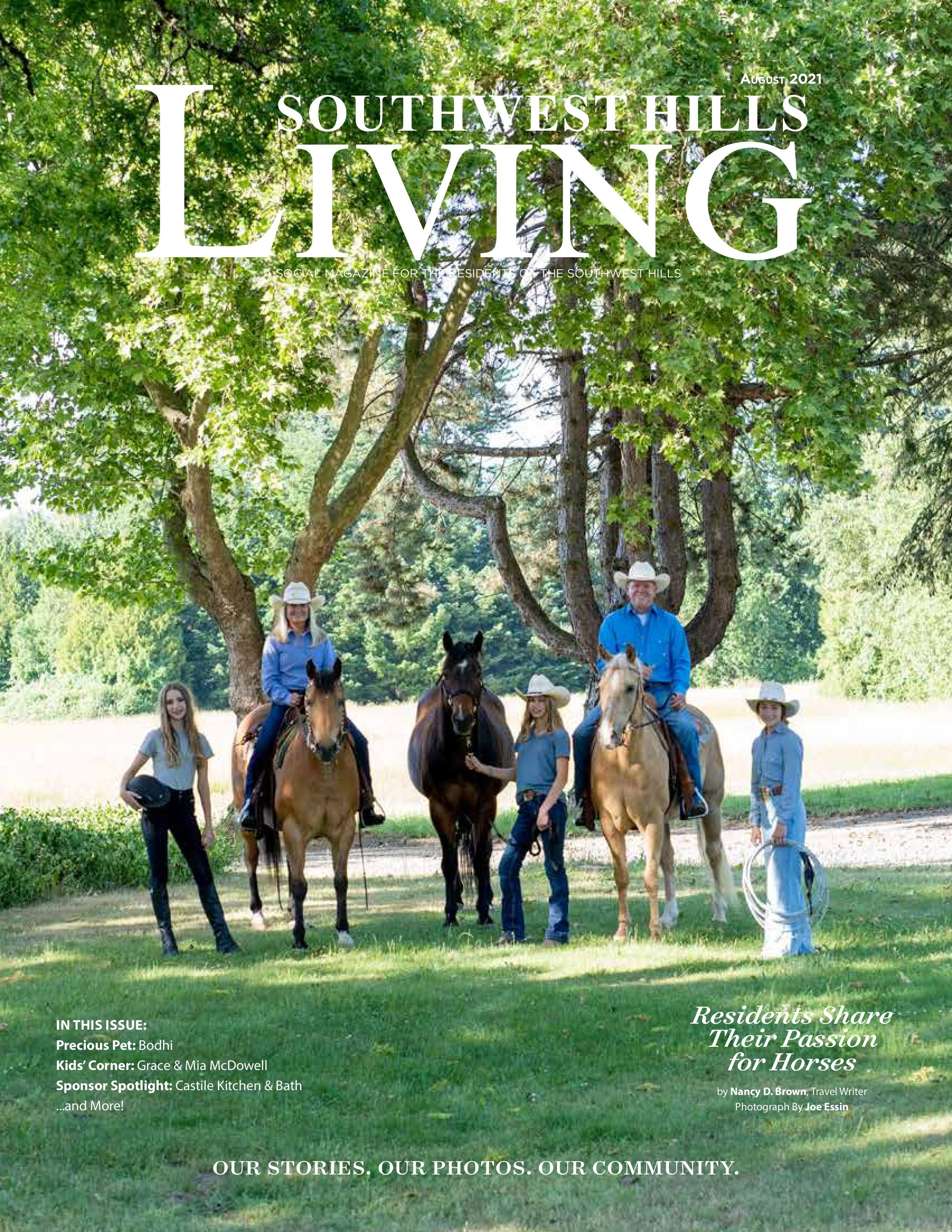 Southwest Hills Living 2021-08-01