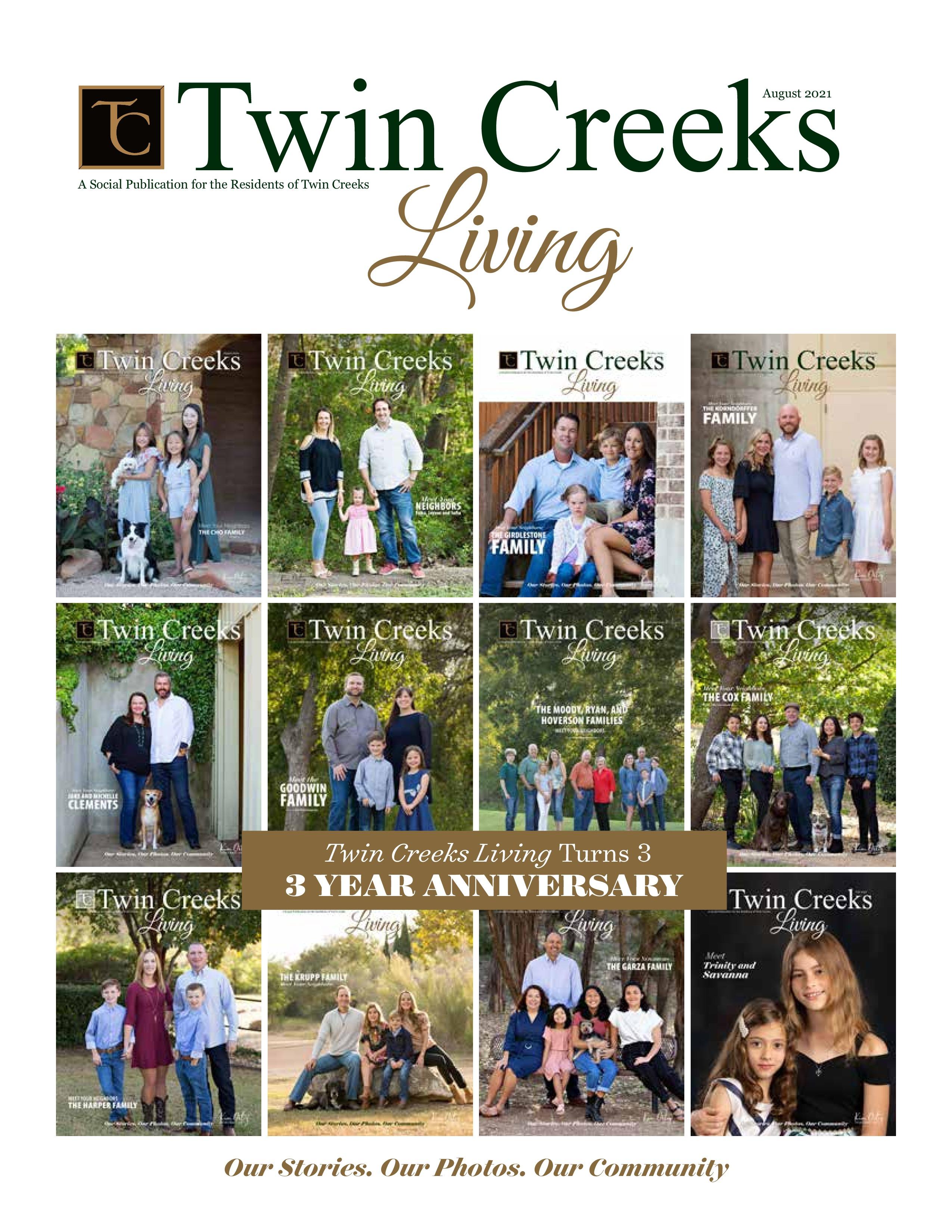 Twin Creeks Living 2021-08-01
