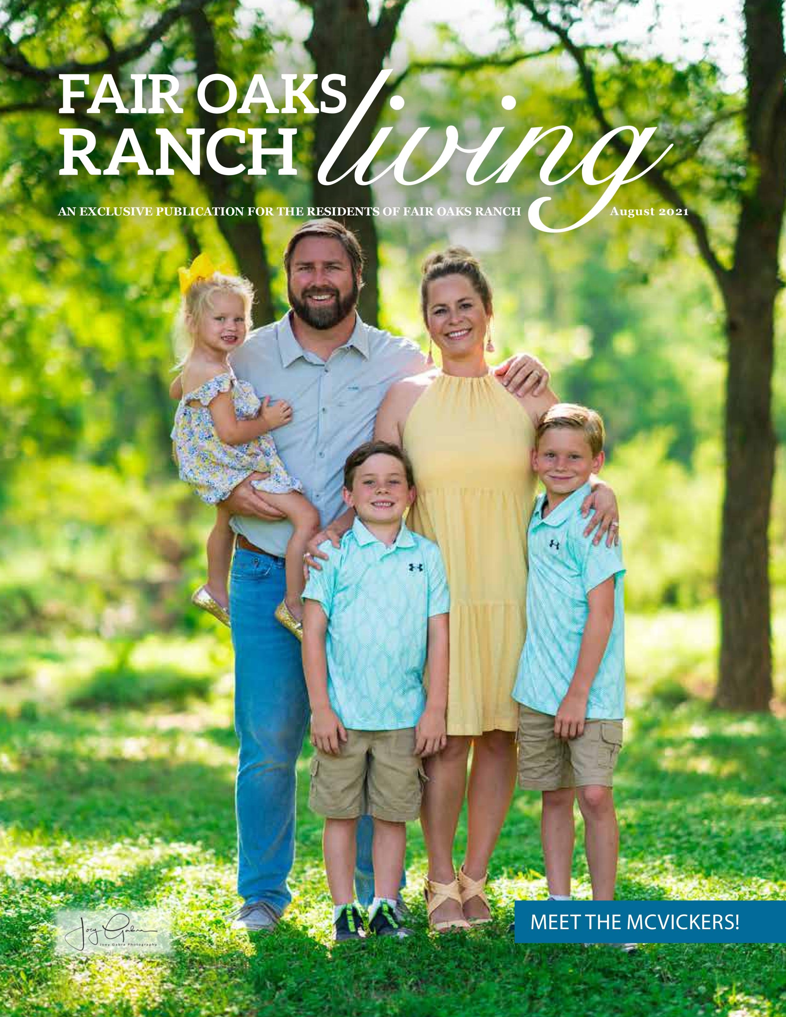 Fair Oaks Ranch Living 2021-08-01