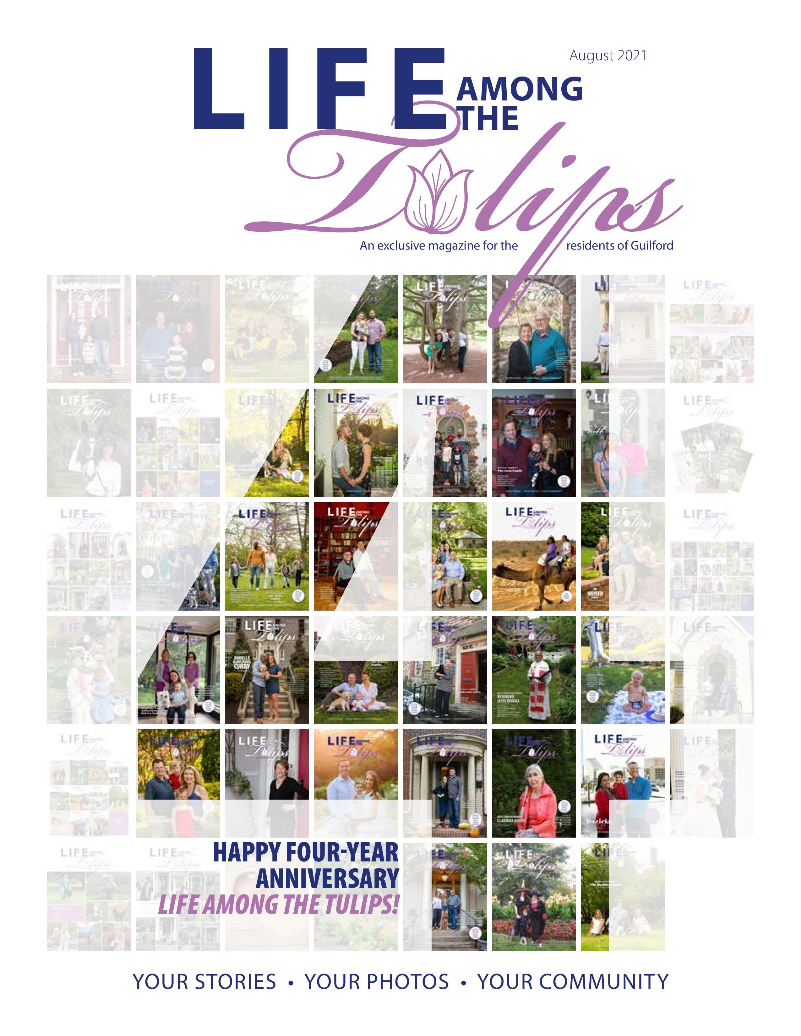 Life Among the Tulips 2021-08-01