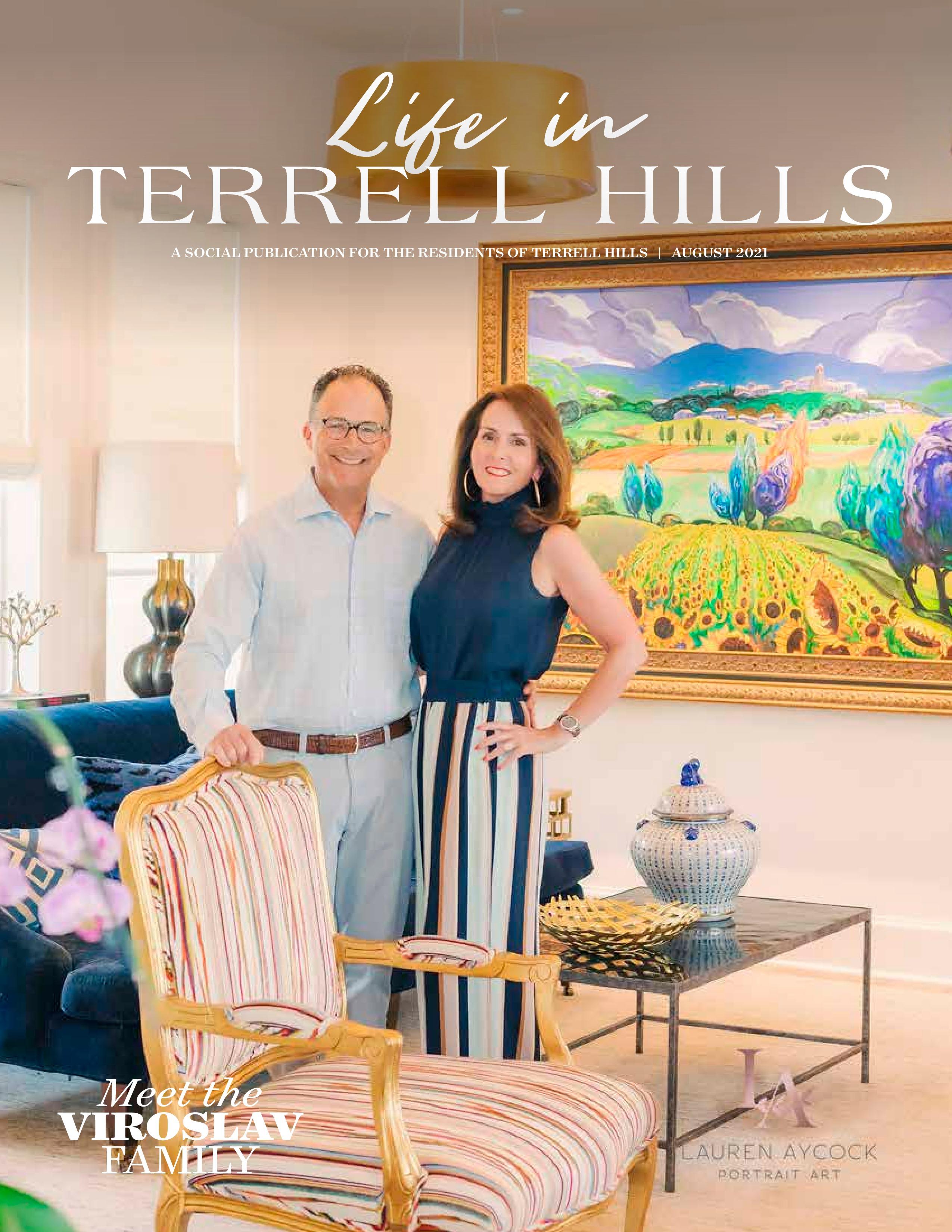 Life in Terrell Hills 2021-08-01