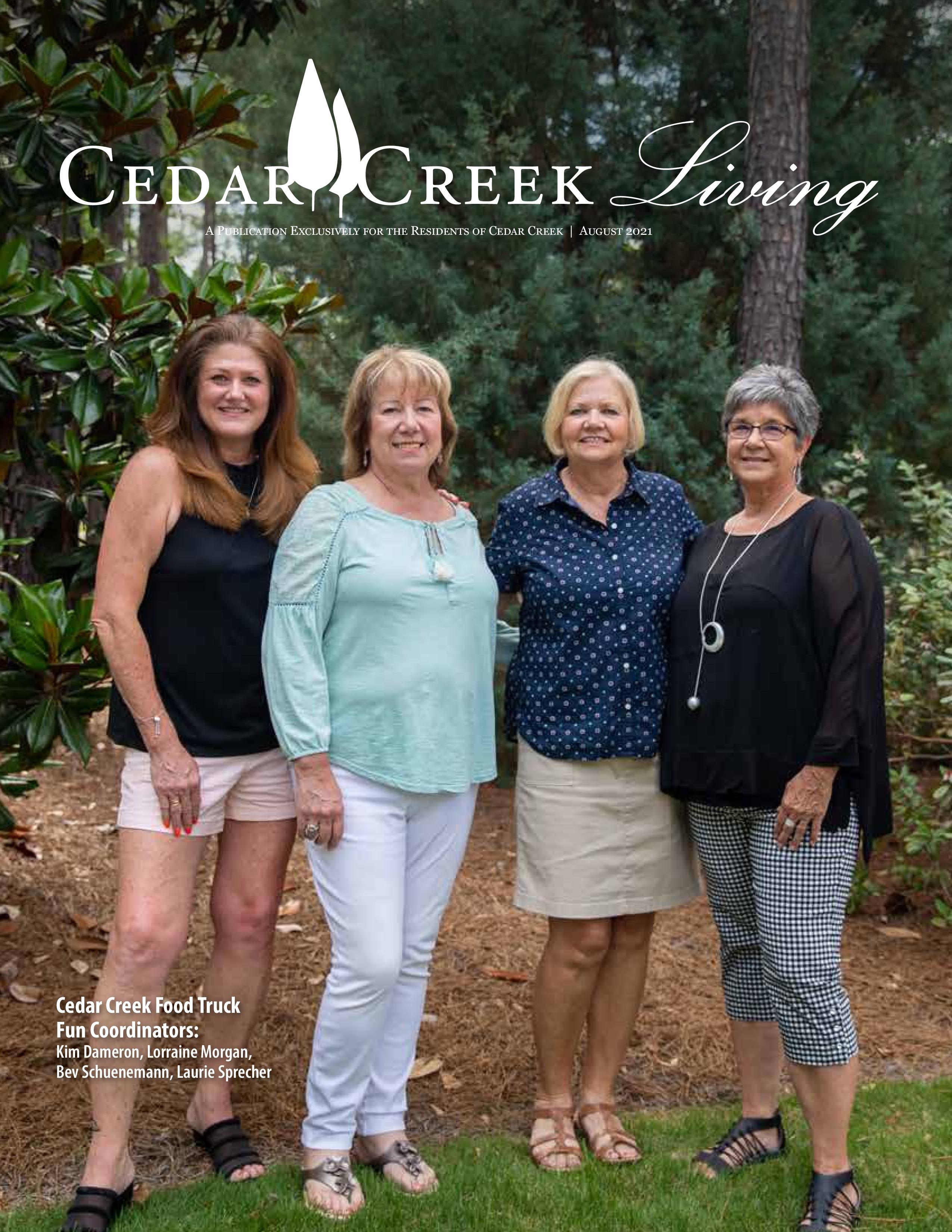 Cedar Creek Living 2021-08-01