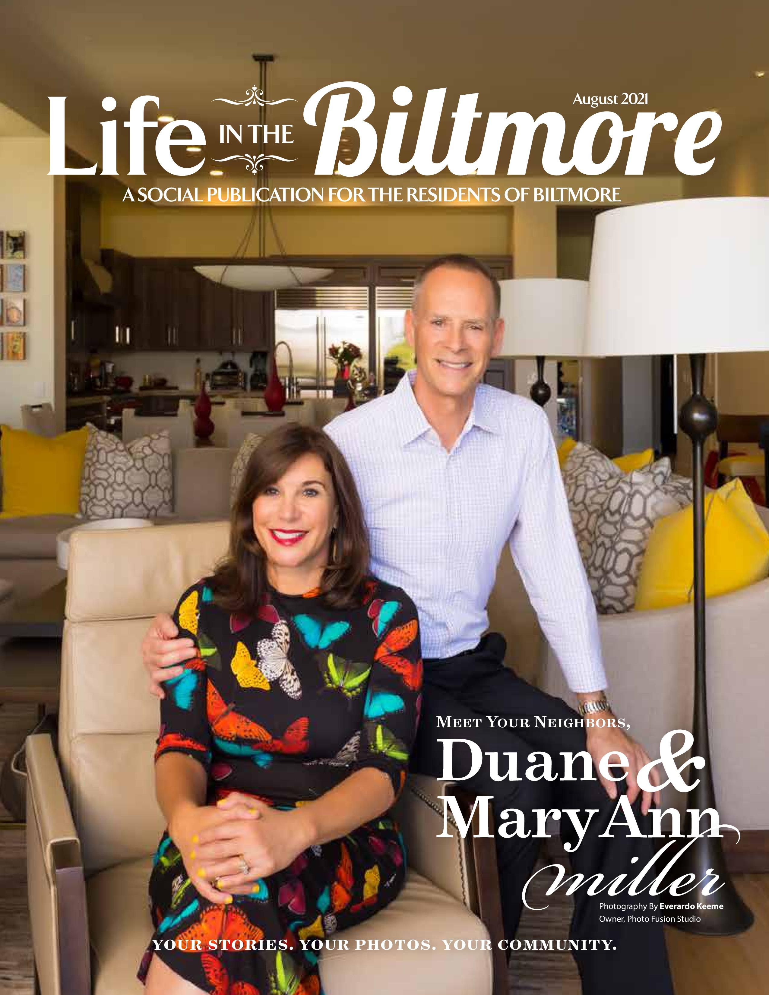 Life in the Biltmore 2021-08-01