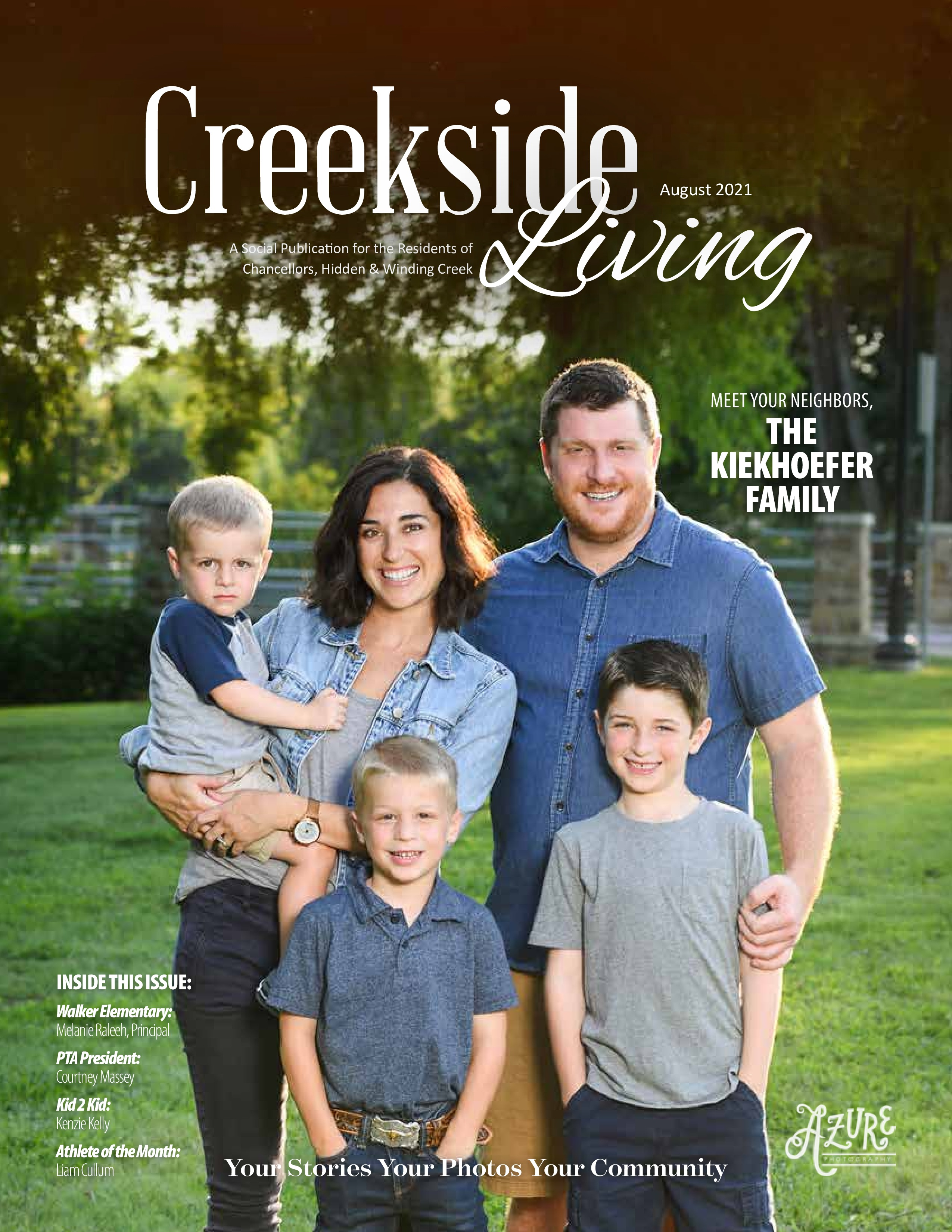 Creekside Living 2021-08-01