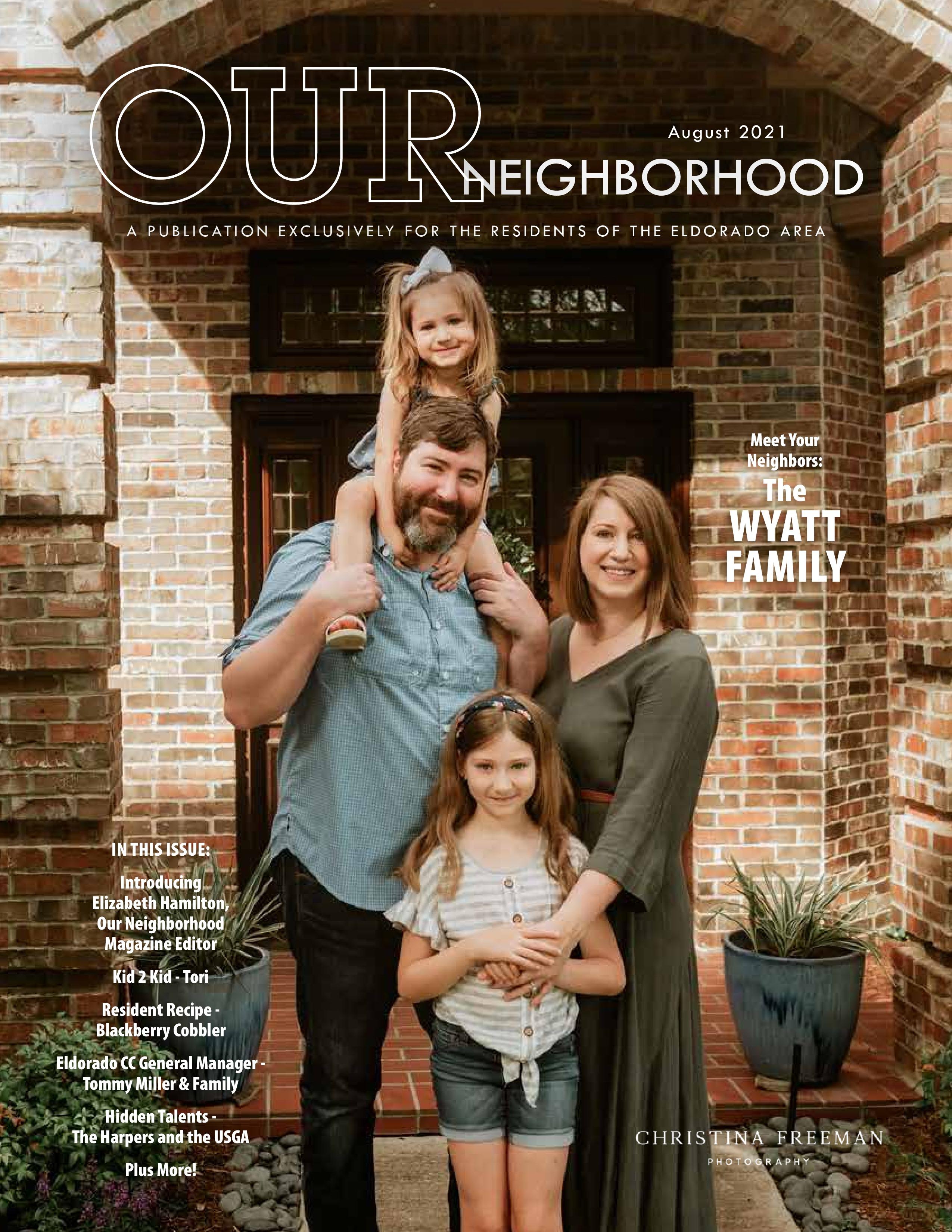 Our Neighborhood 2021-08-01