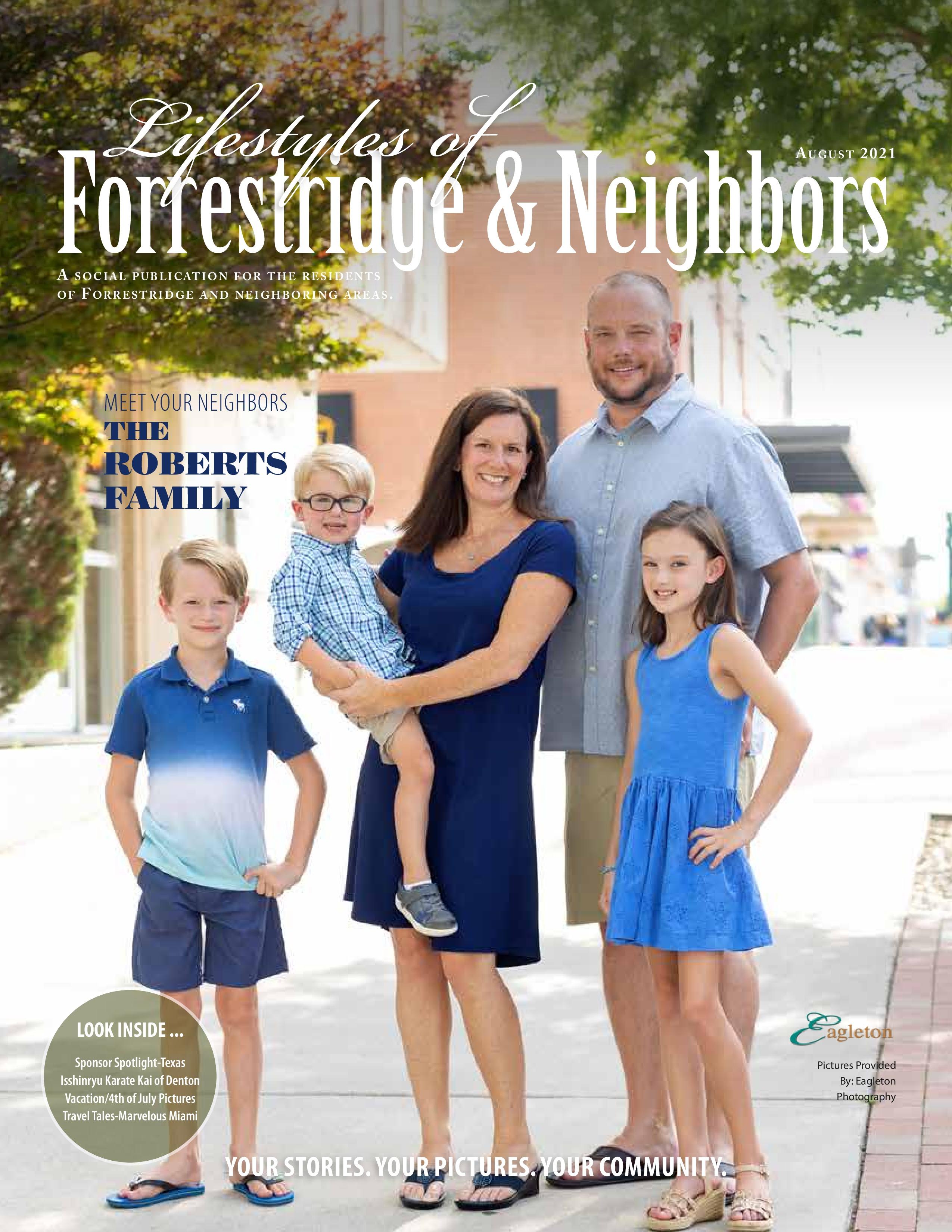 Lifestyles of Forrestridge and Neighbors 2021-08-01