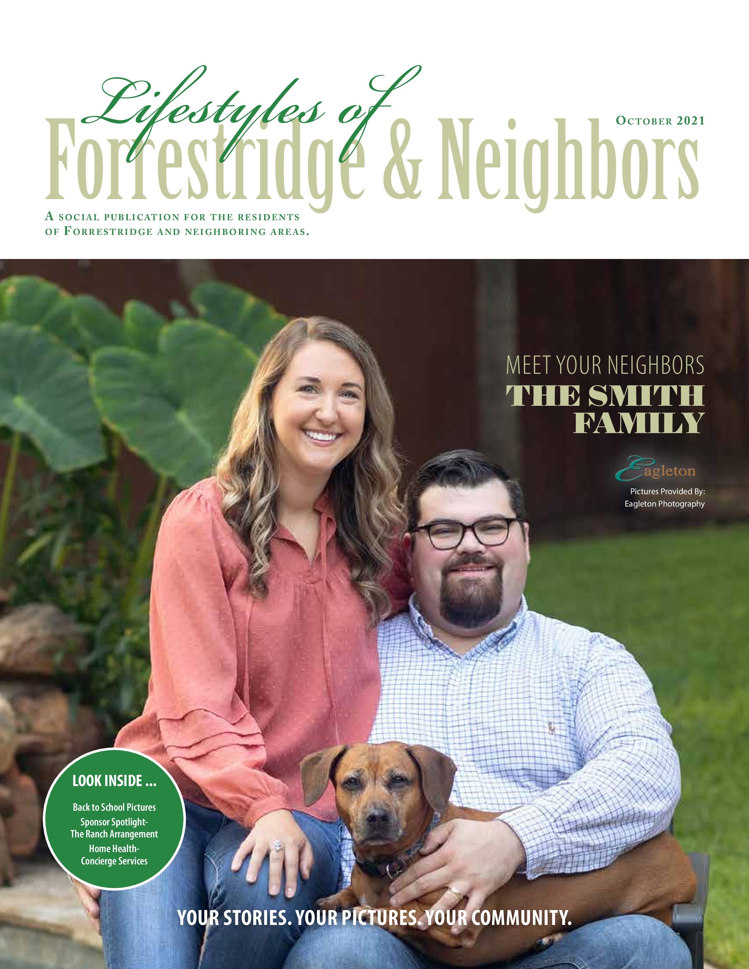 Lifestyles of Forrestridge and Neighbors 2021-10-01